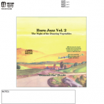 Barn Jazz Vol. II CD disc label